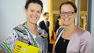 Tina Maier-Schneider im Gespräch mit Frau Prof. Dr. Isabel Schnabel