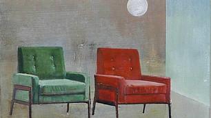 Zwei Sessel klein, C. Gallmetzer