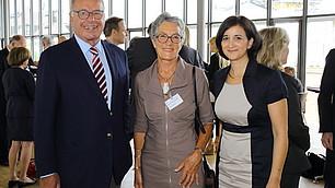 Prof. Randolf Rodenstock, Prof. Dr. Patricia East und Dr. Nese Sevsay-Tegethoff