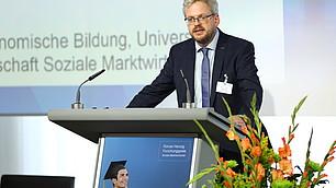 Prof. Dr. Nils Goldschmidt, Laudator für den zweiten Platz