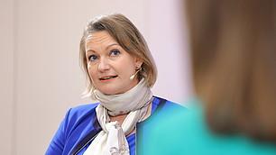 Interdisziplinarität ist gefragt gerade wenn es ums Verstehen von Statistiken geht, so Katharina Schüller