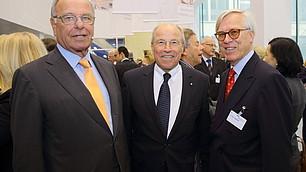Prof. Randolf Rodenstock, vbw-Präsident Alfred Gaffal und Dr. Paul Siebertz
