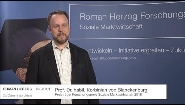 Preisträger: Prof. Dr. habil. Korbinian von Blanckenburg