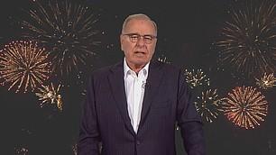 Vorstandsvorsitzender Randolf Rodenstock freut sich über das Feuerwerk von Ideen