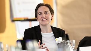 Judith Niehues stellt ihre Ergebnisse der Clusteranalyse für das RHI vor