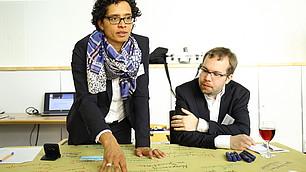 Michael Zibrowius, IW Köln und Barbara Laermann