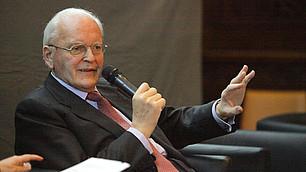 Warum ist Gerechtigkeit wichtig? Roman Herzog beim RHI-Symposium am 26. November 2009