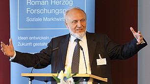 Der Ökonom Prof. Dr. Dr. Hans-Werner Sinn