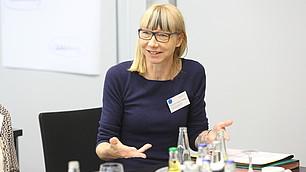 """Mitarbeiter sind """"Garanten der Wertschöpfung"""" , so Sabine Pfeiffer"""