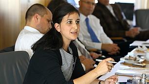 Dr. Nese Sevsay-Tegethoff, RHI, fasst Ergebnisse zusammen