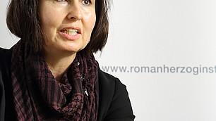 Unter den Teilnehmern: IBE-Direktorin Jutta Rump