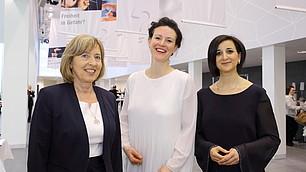 Hanni Nuspl, Tina Maier-Schneider und Nese Sevsay-Tegethoff
