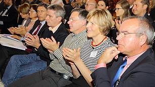 Applaus aus dem Publikum