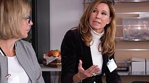 Christine Gallmetzer präsentiert ihre Grundgedanken
