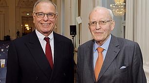 Prof. Randolf Rodenstock und Prof. Roman Herzog