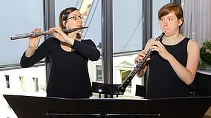 Duo Papagena sorgte für die musikalische Umrahmung