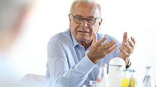 """""""Wir brauchen fakten-basiertes Wissen"""", sagt Gastgeber Randolf Rodenstock."""