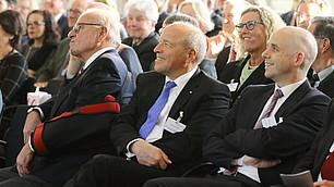 vbw Präsident Alfred Gaffal, Holger Bonin, Fritz Kempter