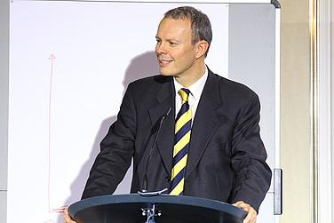 Moderator Henning Krumrey, WirtschaftsWoche