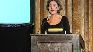 Dr. Karen Horn gestaltete den ersten Fachvortrag