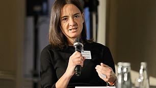 Mensch- Maschine Interaktion: Erkenntnisse aus Forschung und Lehre stellte die Historikerin Martina Hessler vor.