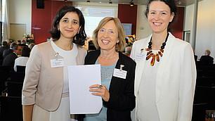 Das RHI-Team Dr. Nese Sevsay-Tegethoff, Hannelore Nuspl, Tina Maier-Schneider