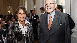 Dr. Uschi Rodenstock und Bundespräsident a.D. Prof. Herzog