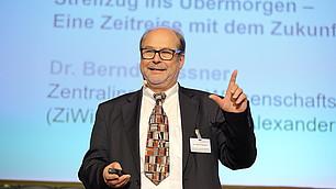 Mit Humor in die Zukunft blicken, Bernd Flessner.