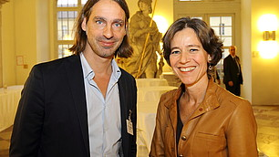 Richard David Precht und Karen Horn
