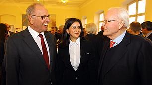 Prof. Rodenstock, Dr. Sevsay-Tegethoff und Prof. Herzog (v.l.)