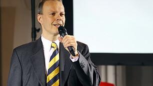 Der Moderator Henning Krumrey, Wirtschaftswoche