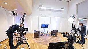 Vorbereitungen auf das erste digitale RHI-Symposium