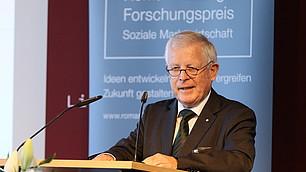 vbw-Präsidiumsmitglied Dr. Fritz Kempter