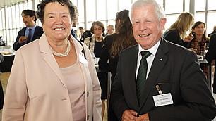 Prof. Dr. Dagmar Schipanski und Dr. Fritz Kempter