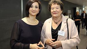 Dr. Nese Sevsay-Tegethoff und Prof. Dr. Dagmar Schipanski